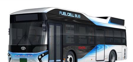 El autobús olímpico de Toyota funciona con hidrógeno y sirve como generador de energía de emergencia