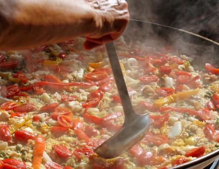 Arroz Cocinando