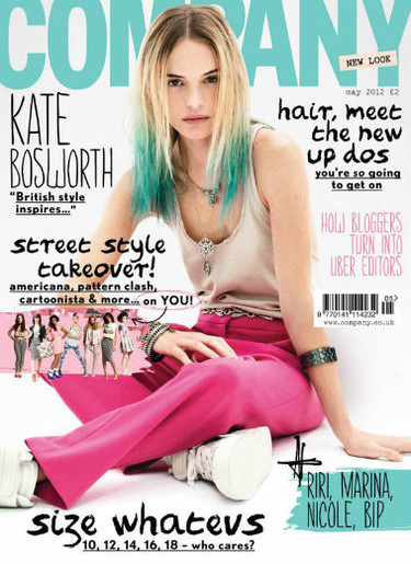 Kate Bosworth, sosa y descolorida