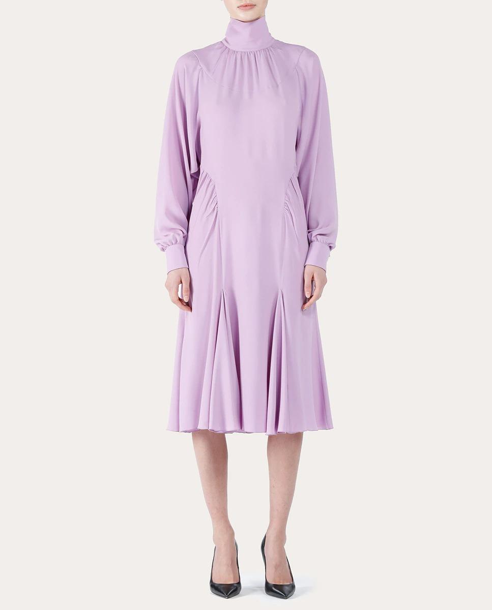 Vestido midi de seda Nº21