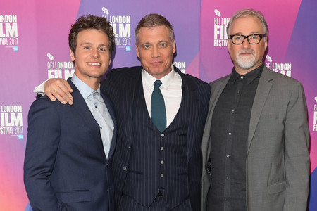 Jonathan Groff, Holt McCallany y David Fincher