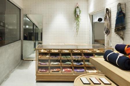 Espacios para trabajar: una tienda de kimonos