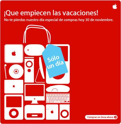 La Apple Store de rebajas... ¡solo por hoy!