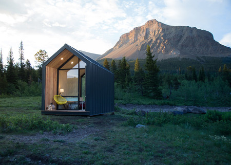 Una cabina prefabricada, o mini casa, para colocar en el lugar de tus sueños