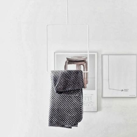 Los percheros Clothing Rails de Annaleena Leino