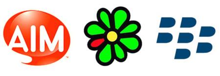AIM e ICQ con Blackberry OS 4.5