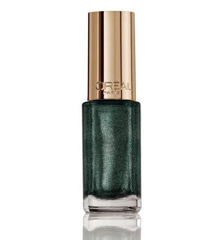 Esmalte De Uñas Le Veris Color Riche Verde Amatista