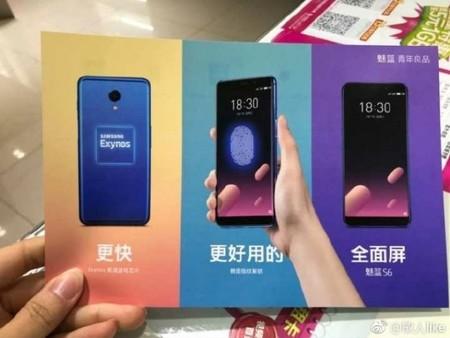 El Meizu M6s filtrado a un día de su presentación oficial: pantalla 18:9 y procesador Exynos para el nuevo gama media