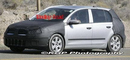 Fotos espía del Volkswagen Golf VI