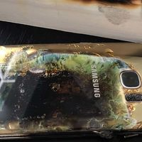 Se ha incendiado un Samsung Galaxy S7 en México