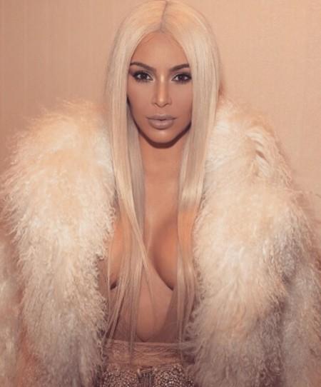 Kim Kardashian Rubio Platino 2016