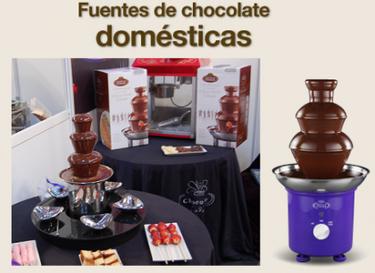 Fuente de chocolate doméstica, nueva primicia mundial