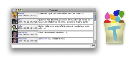 Twucket, cliente de Twitter gratuito para OS X