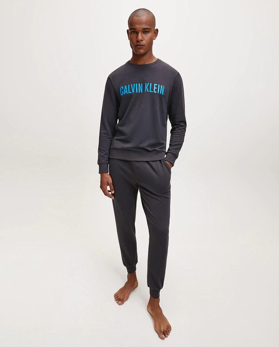 Sudadera de estar en casa con logo de Calvin Klein