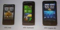HTC Inspire 4G, un Android que se une a la red más veloz de AT&T