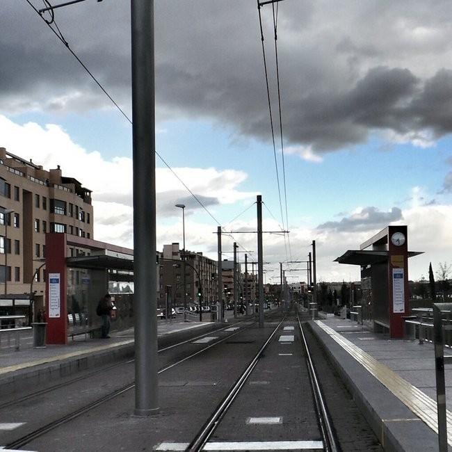 estación metro ligero