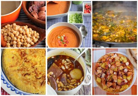 Los 100 platos más representativos de la cocina española, según 60 reconocidos gastrónomos (y sus recetas)