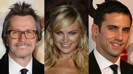 Gary Oldman, Malin Akerman y Milo Ventimiglia en 'Criminal Empire for Dummys'