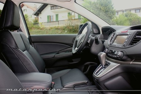 Honda CR-V, vista interior lateral