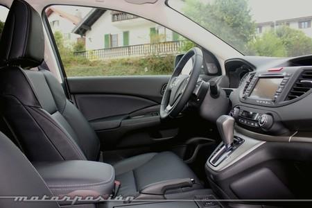 Honda CR-V, vista interior lateral