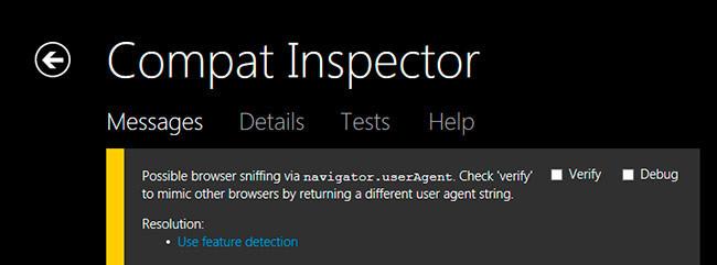Compat Inspector
