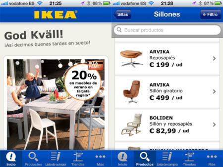 IKEA nos acerca su tienda a nuestro dispositivo iOS con su aplicación oficial