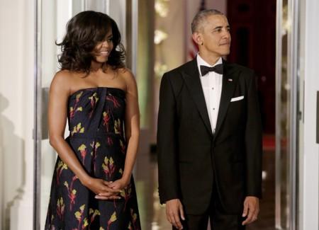 El día en el que Michelle Obama desfiló en la Casablanca como en la alfombra roja de los Oscar