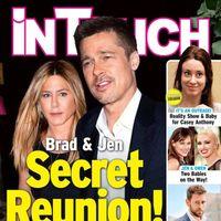 Brad y Jen, ¿retomando el contacto?