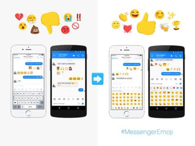 ¿Sabes qué es La Gran Divisoria del Emoji? Facebook Messenger quiere acabar con ella