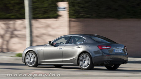 Maserati Ghibli Diesel prueba