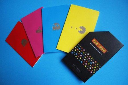 Colección Moleskine dedicada al aniversario del Pac-Man