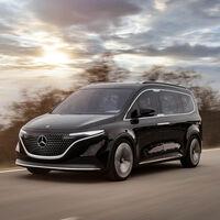 Mercedes-Benz EQT Concept, o como convertir una Renault Kangoo eléctrica en un lujoso Mercedes familiar