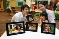 Marco de fotos con Wifi de Samsung