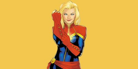 Carol Danvers As Captain Marvel Wallpaper