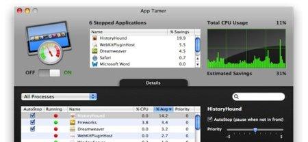 App Tamer, controla tus aplicaciones abiertas desde la barra de menú