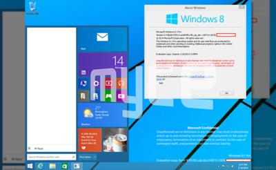 Aparecen más capturas del menú de inicio en Windows 9
