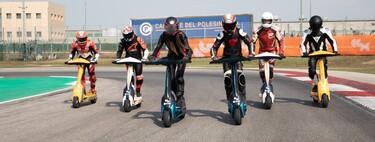 """eSkootr: el """"mundial"""" de patinetes eléctricos que cogen los 100 km/h está listo para empezar en 2022... de momento"""