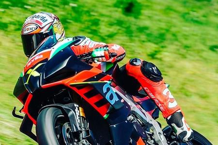 Max Biaggi Aprilia Rsv4 X Misano 2020