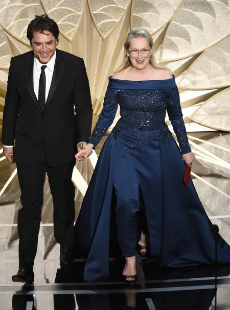 Merylstreep Eliesaab Oscar2017