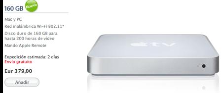 Nuevo AppleTV de 160GB