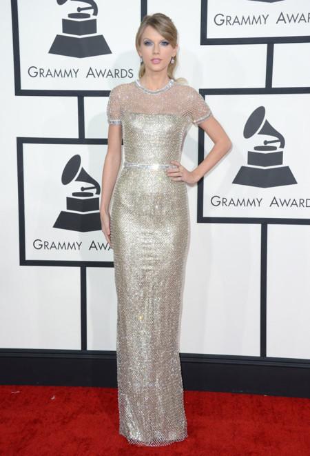 Espalda Taylor Swift Grammy 2014