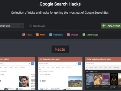 Searchyapp: trucos, datos curiosos y huevos de pascua de Google