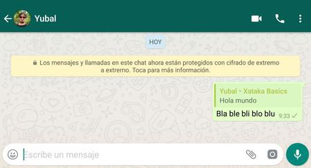 Cómo responder en privado a un mensaje en un grupo de WhatsApp