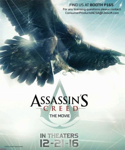 poster pelicula assassins creed