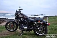 De carreras con la Harley Davidson Sportster XL 883 R a las Production Racer: la semana a rebufo