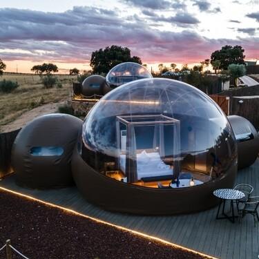 Planes de verano: Hoteles burbuja y otros alojamientos ideales para ver la lluvia de Perseidas