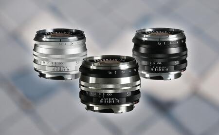 Voigtlander Nokton Vintage 50 mm F1.5 Aspherical II VM, nueva óptica retro para usuarios de cámaras clásicas como las Leica M
