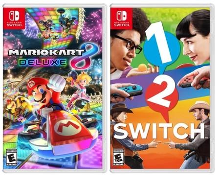 Nintendo Switch Este Sera El Aspecto Que Tendran Las Caratulas De