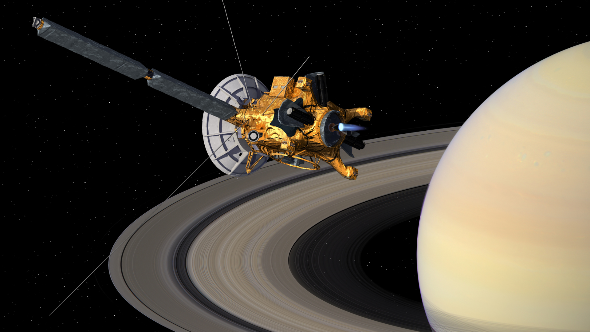 Cassini, vida inteligente NASA
