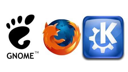 Firefox con Gnome y KDE